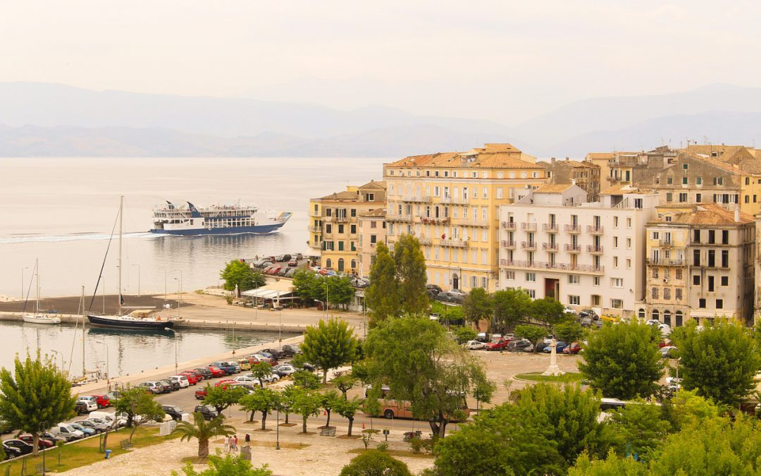 The Adventure On The Island Of Corfu, Greece