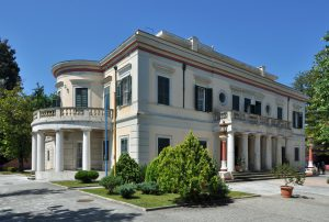 Paleopolis and Mon Repos mansion on Corfu