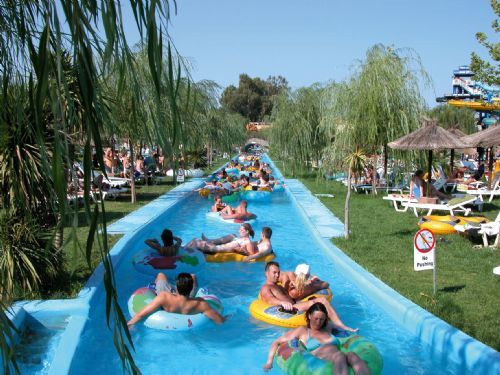Aqualand Waterpark, Central Corfu