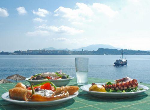 Vidos Island Menios Taverna, Corfu Town